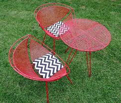 Antique Metal Patio Chairs Vintage Metal Patio Chairs Twinkle