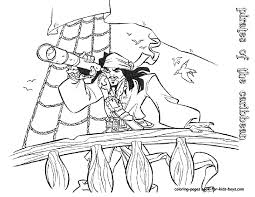 pirates of the caribbean coloring pages free coloring pages