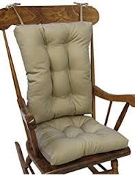 2pc padded rocking chair cushion set beige amazon ca home