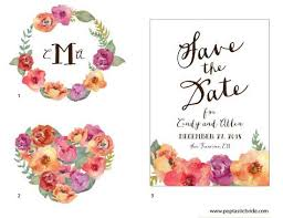 wedding flowers images free diy wedding design resources watercolor flowers a free
