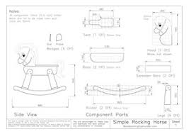 Free Woodworking Plans Toy Box by Best 25 Rocking Horse Plans Ideas On Pinterest Wood Rocking