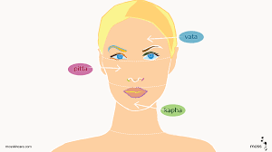 Face Mapping Acne Ayurvedic Face Mapping Part 1 Moss Blog
