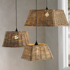 Wicker Pendant Light Handwoven Rattan Pendant Light Collection Vivaterra