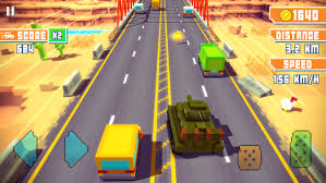blocky roads version apk blocky highway traffic racing android apps on play