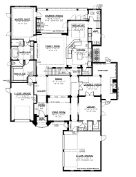 mediterranean style house plan 4 beds 4 5 baths 4294 sq ft plan