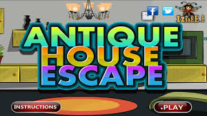antique house escape walkthrough youtube