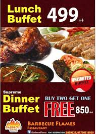 The Mirage Buffet Price by Best Meal Deals In Dhaka At Dhakasnob Com