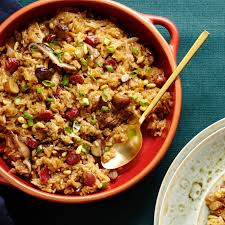 sticky rice with sausage and shiitakes recipe