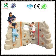 mini plastic kids rock climbing wall backyard climbing wall qx