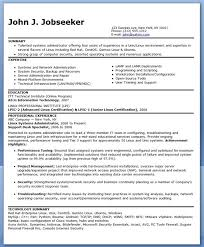 Linux Administrator Resume 1 Year Experience Essay On Medieval Witchcraft General Objectives Resume Sample