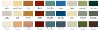 color chart national paints