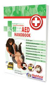 bls u0026 aed handbook highfield training products first aid books