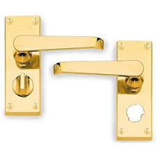 hoppe cbv31wc wc door handle lock victorian polished brass