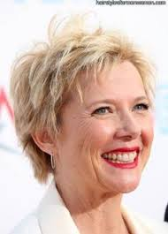 short haircuts women over 50 back of head the short trendy hairstyle is tapered into the back of the head