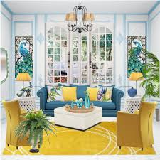 Blue And Yellow Home Decor 10