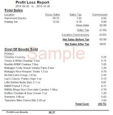 Sle Profit And Loss Sheet by P L Report Sle 28 Images Profits And Losses For Restaurants
