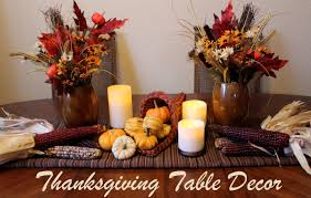 brilliant ideas for decorating thanksgiving table design