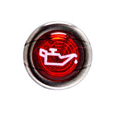 oil pressure warning light chrome rimmed warning lights oil pressure red classic vintage