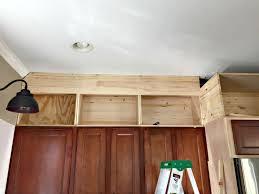 Above Cabinet Storage Cabinet Space Above Kitchen Cabinet