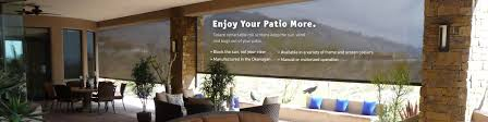 Patio Wind Screens by Artistic Awning 3 Solace Screens
