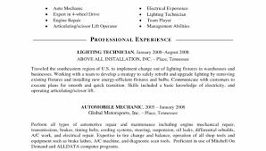 mechanical resume mechanic job description resume u2013 resume examples