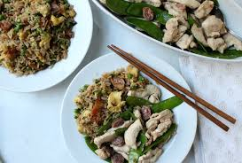 Chinese Main Dishes Easy - faster than delivery 15 minute chinese chicken with bacon and egg