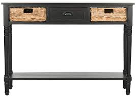 Black Console Table Black Console Table Consoles Safavieh Com