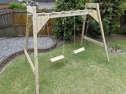make a combination swing frame u0026 monkey bars page 1