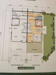 cluster home floor plans jack phang investment mah sing sri pulai perdana 2 last phase
