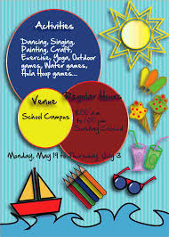 free event poster templates brochure summer camp templ and free event flyer templates word
