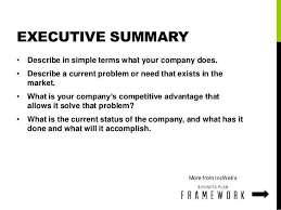 simple executive summary 20 executive summary templates free