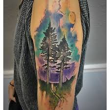 25 creative tree watercolor ideas tattoozza