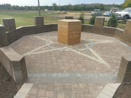 Octagon Patio Pavers by Project Feature American Legion Post 247 Eaglebay Usa Pavers