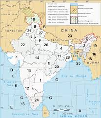 Maps Of India by Latest Political Map Of India