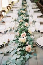 best 25 table garland ideas on wedding table garland