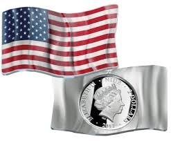 Who Invented The United States Flag 2017 Niue Enameled 1 Oz Silver Waving American Flag 2 Gem Proof
