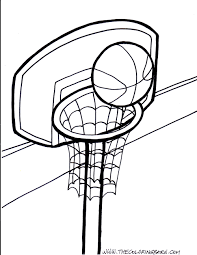 basketball coloring pages eliolera com