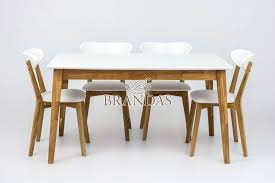 white mdf table top urbano dining table with white lacquared beech table top brandas