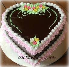 How To Decorate Heart Shaped Cake Heart Of Mary February 2013