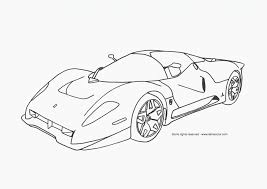 free coloring pages race cars coloring