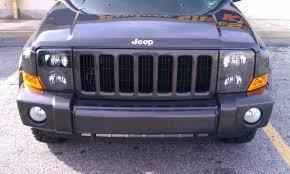 jeep commander black headlights blacked out my headlights last