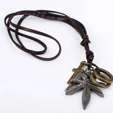 leather necklace wholesale images 47 mens cool necklaces cool mens necklace black silver chain jpg
