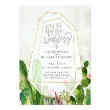 succulent wedding invitations succulent invitations announcements zazzle
