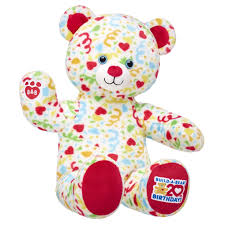 limited edition 20th anniversary confetti teddy