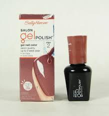 2 sally hansen salon gel color nail polish 160 so much fawn 180