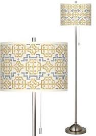Willow Floor Lamp Blue Asian Floor Lamps Lamps Plus