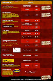 halloween horror nights calendar images of halloween horror nights parking price everything you