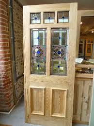Glass For Front Door Panel by Four Panel Stained Glass Front Door Sense Of Continuity