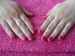 toptwentynails pink wednesday opi shellac and nco pinks