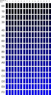 Blue Shades Clipart Shades Of Blue